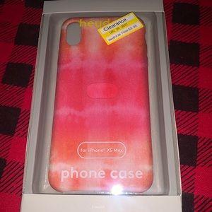 Heyday pink tie dye phone case IPhone XS Max